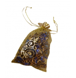 Homemade Chocolates _ Cardamom Chocolate Pouch In Dark