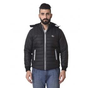 Black Quilted & Bomber Jacket