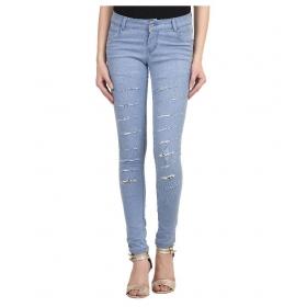 Blue Denim Lycra Jeans