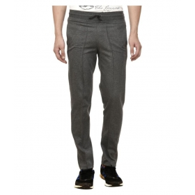 Charcoal Cotton Trackpants