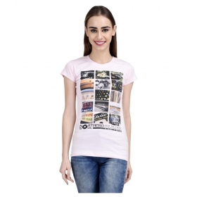 Pink Cotton T-shirts