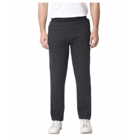 Grey Cotton Blend Trackpants Single