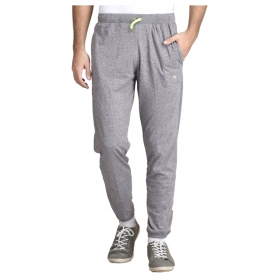 Grey Cotton Joggers Single