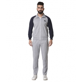 Grey Woolen Tracksuit Single