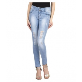Light Blue Denim Lycra Jeans