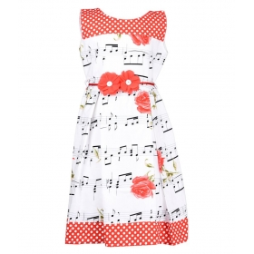Multi Cotton Frock For Girl
