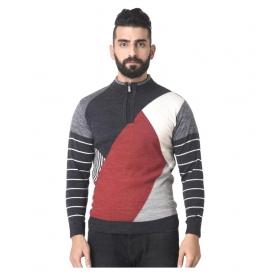 Multi Stand Collar Sweater