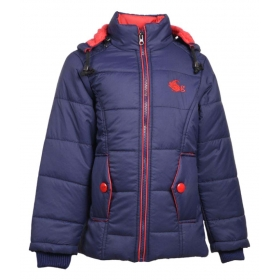 Navy Full Sleeve Jacket For Girls