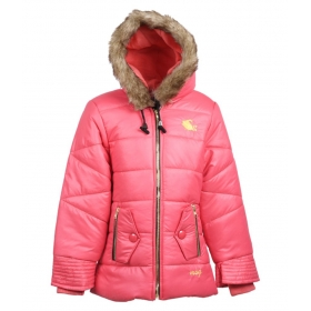 Peach Jacket For Girl's Kids