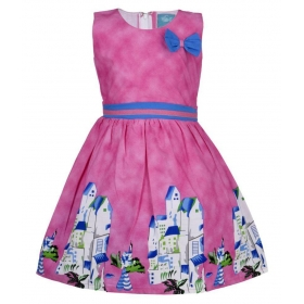 Pink Cotton Frock