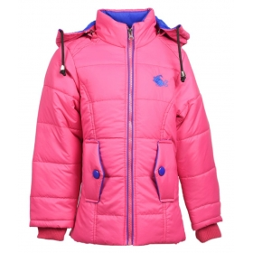 Pink Full Sleeve Jacket For Girls