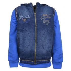 Royal Blue Hooded Sweatshirt For Boy Kids