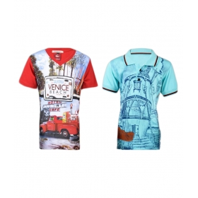 T- Shirt For Boys (pack Of 2)