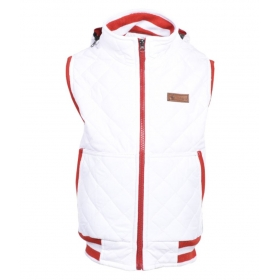 White Polyester Jackets For Boys