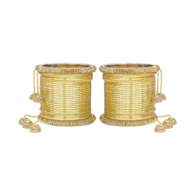 More Golden Bangle Set