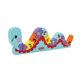 My First Counting Worm Puzzle 12 Pcs. - Wooden Puzzle