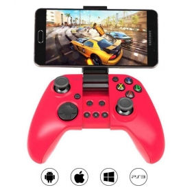 Bluetooth Gamepad Controller For Pc, Ps3, Android And Ios ( Wireless ) Supports Multiple Platforms