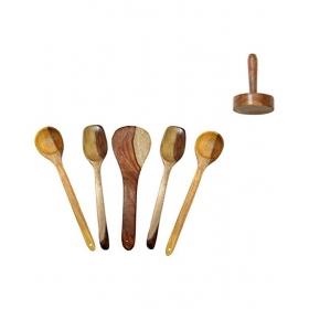 Desi Karigar Wooden Skimmer Set
