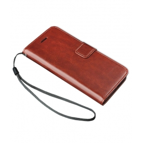 Wallet Case For Sony Xperia Z5 Premium - Brown