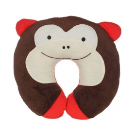 U Shape Feeding & Nursing Baby Neck Pillow - Monkey