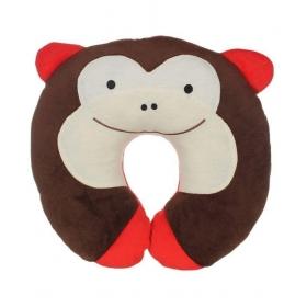 U Shape Feeding & Nursing Baby Neck Pillow - Monkey