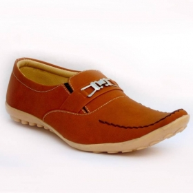 Mens Shoes Loafers  (tan)