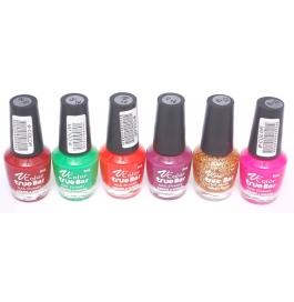 V-color True Bar Nail Polish Set Of 6 Pcs. (set # 45)