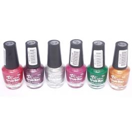 V-color True Bar Nail Polish Set Of 6 Pcs. (set # 47)