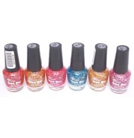 V-color True Bar Nail Polish Set Of 6 Pcs. (set # 49)