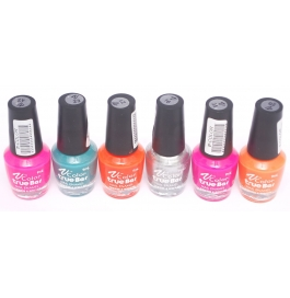 V-color True Bar Nail Polish Set Of 6 Pcs. (set # 50)