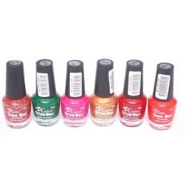 V-Color True Bar Nail Polish Set of 6 Pcs. (Set # 42)