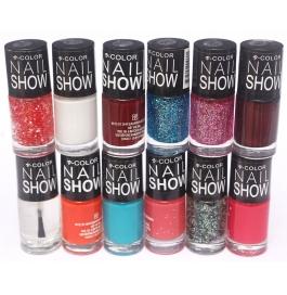 V-color Nail Show - Nail Polish Set Of 12 Pcs. (set # 1)