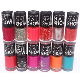 V-color Nail Show - Nail Polish Set Of 12 Pcs. (set # 5)