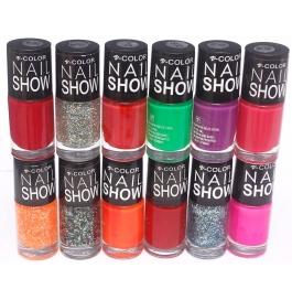 V-color Nail Show - Nail Polish Set Of 12 Pcs. (set # 6)