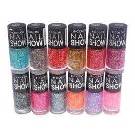 V-color Nail Show - Nail Polish Set Of 12 Pcs. (set # 8)