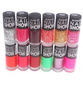 V-Color Nail Show - Nail Polish Set of 12 Pcs. (Set # 11)