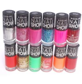 V-color Nail Show - Nail Polish Set Of 12 Pcs. (set # 13)