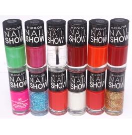 V-color Nail Show - Nail Polish Set Of 12 Pcs. (set # 2)