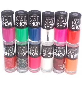 V-color Nail Show - Nail Polish Set Of 12 Pcs. (set # 16)