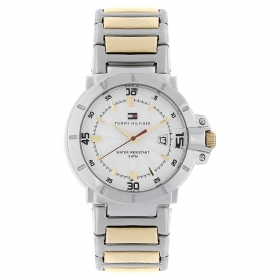 Silver Dial Stainless Steel Strap Watch (nath1790514j)