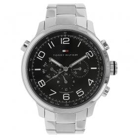 Black Dial Metal Strap Watch (nath1790965j)