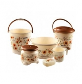 Vinayaka Bathroom Set 6 Pcs