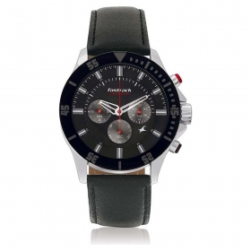 Fastrack Big Time Chronograph Watch For Men (nd3072sl02)