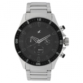 Fastrack Big Time Chronograph Watch For Men (nd3072sm01)