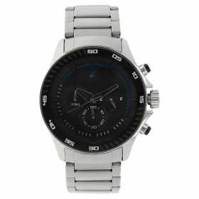 Fastrack Big Time Chronograph Watch For Men (nd3072sm03)