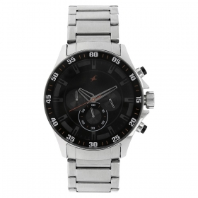 Fastrack Big Time Chronograph Watch For Men (nd3072sm04)