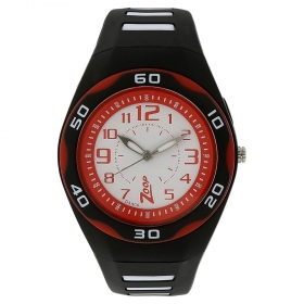 Multicolour Dial Plastic Strap Watch (nec3022pp02c)