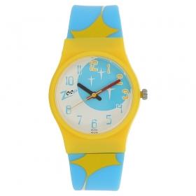 Multicolour Dial Plastic Strap Watch (nec3028pp10c)