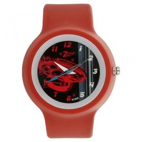 Black Dial Plastic Strap Watch (nec3029pp05c)