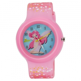 Blue Dial Plastic Strap Watch (nec3029pp11c)